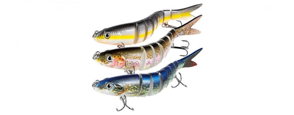 truscend double hook bass fishing lures