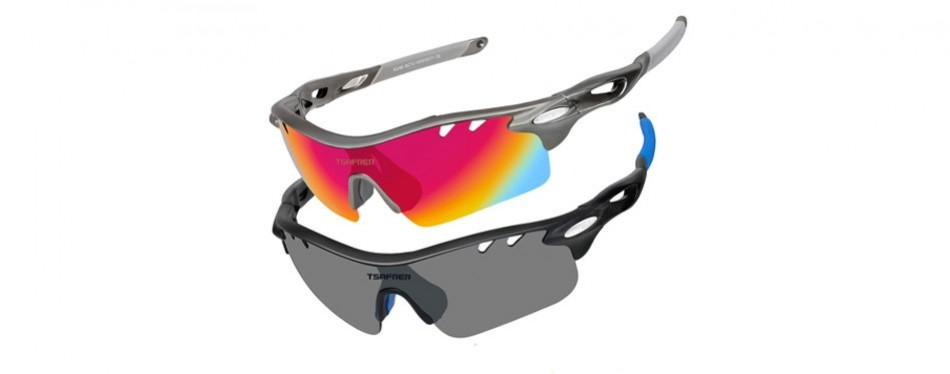 tsafrer polarized sports hiking sunglasses