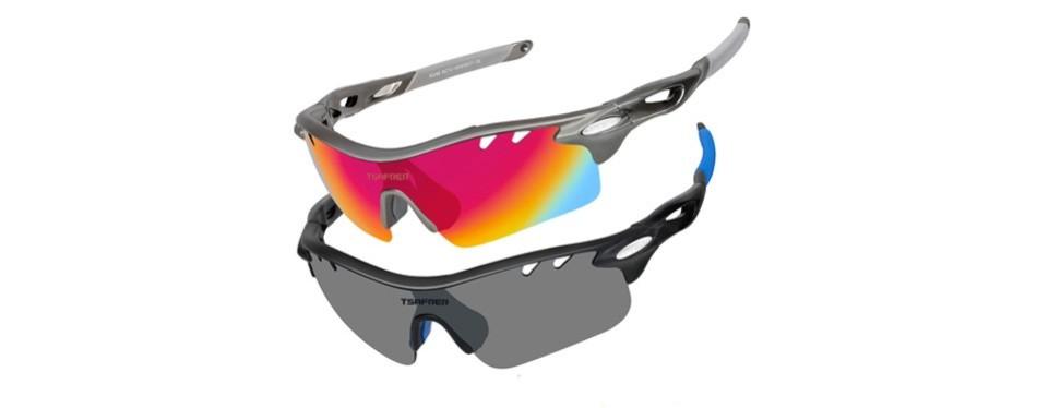tsafrer polarized sports hiking sunglasses