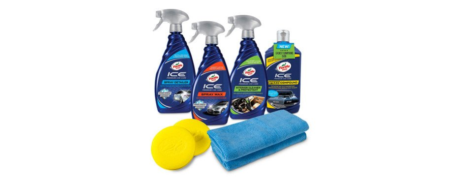 turtle wax complete ice premium car care kit