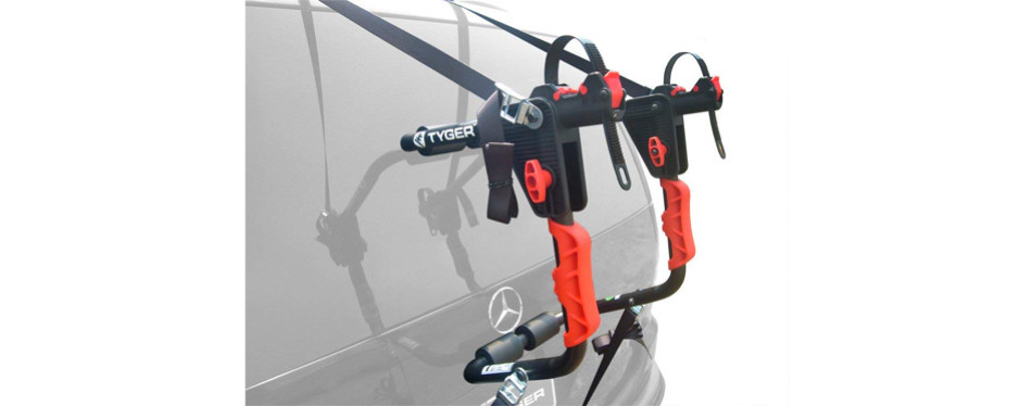 tyger trunk mount bicycle rack