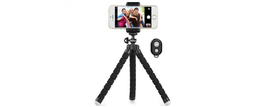 ubeesize portable and adjustable phone tripod