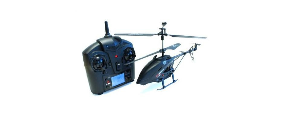 udi 3 channel metal rc helicopter