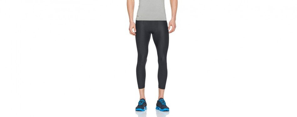 under armor men's heatgear armour compression yoga pants