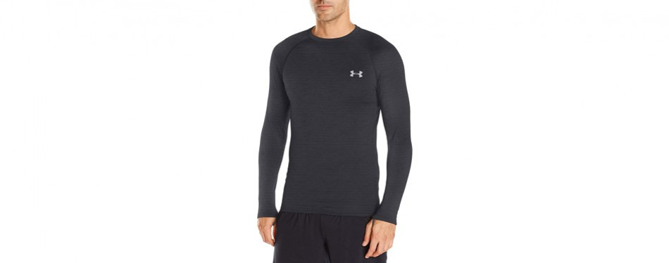 Under Armour Mens Base Layer Top Size Xl Very Good Top Men's Clothing Activewear Tops