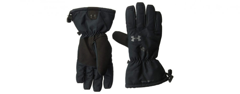 under armour men's mountain gloves