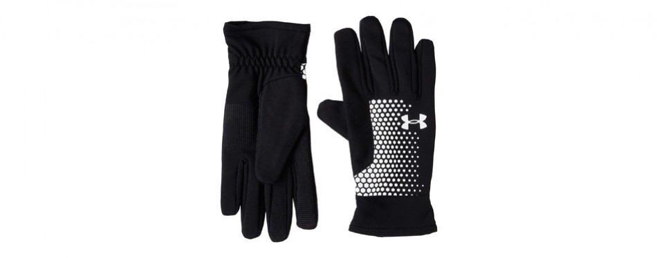 under armour men's threadborne run gloves