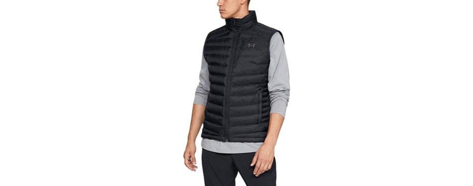 under armour men's trail hybrid zip jacket