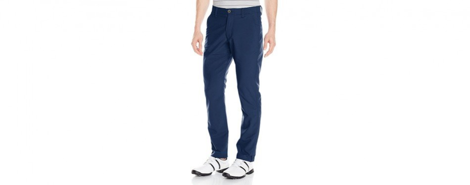 under armour men's match play golf pants – tapered leg