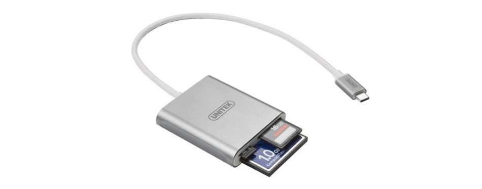 unitek 3-slot usb 3.0 c card reader