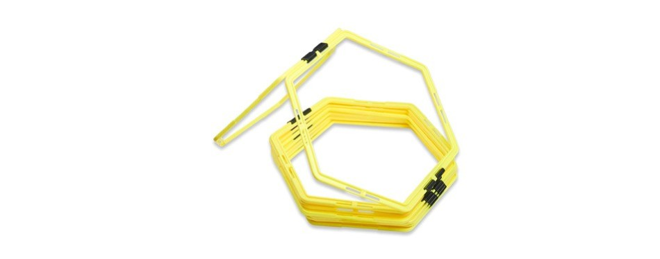 unlimited potential hexagonal speed & agility training rings