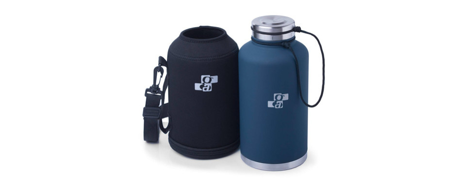 [upgraded] beer growler and water bottle