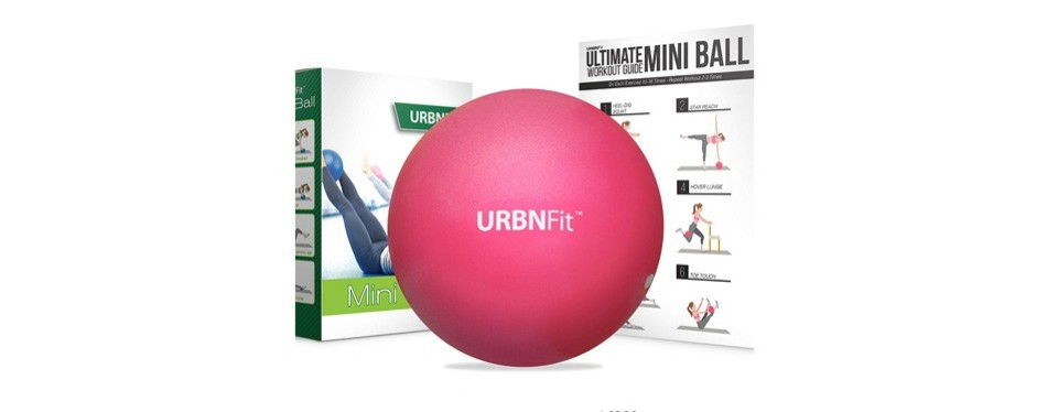 urbnfit mini pilates style stability ball
