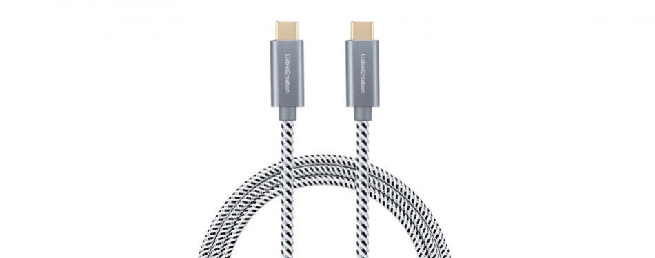 cablecreation usb-c to usb-c charging cable