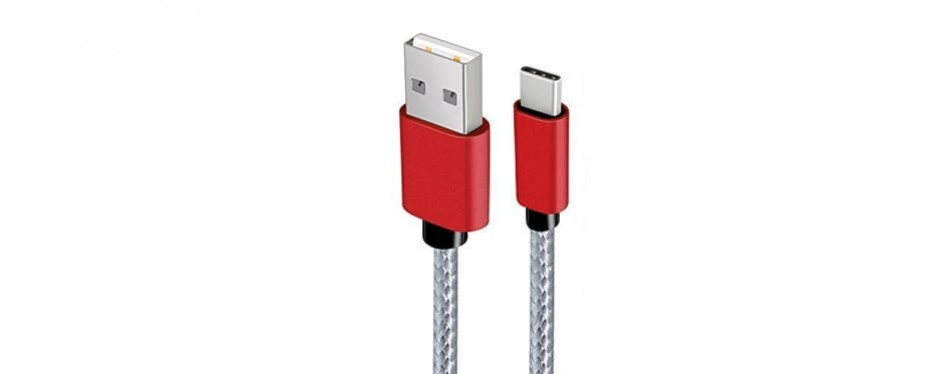covery braided usb c to usb a charger