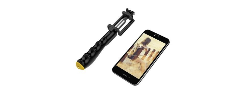 ustek extension-type chargeable bluetooth selfie stick2