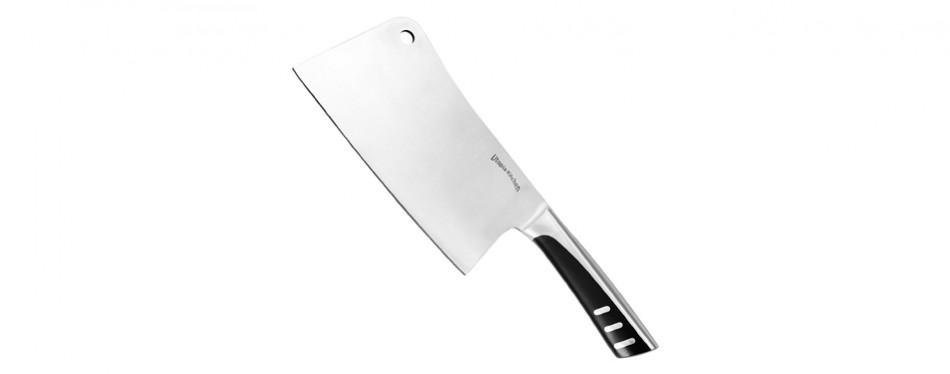 utopia kitchen 100% stainless steel cleaver