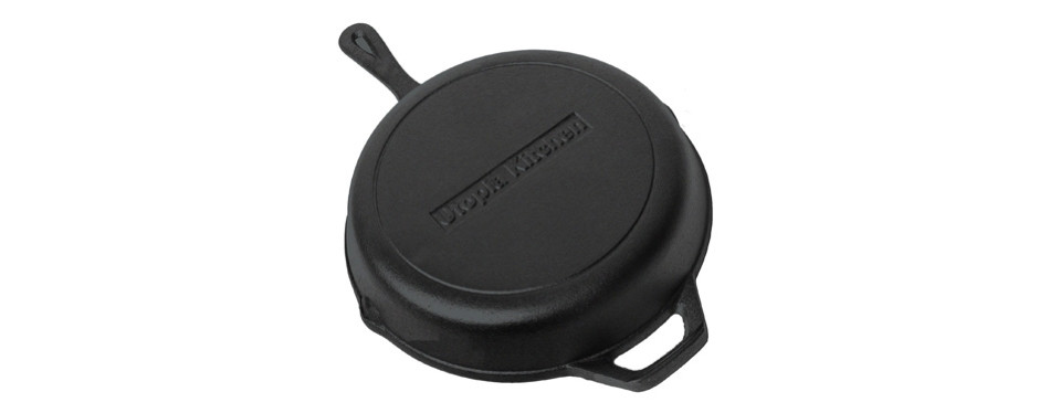 utopia kitchen pre-seasoned cast iron skillet