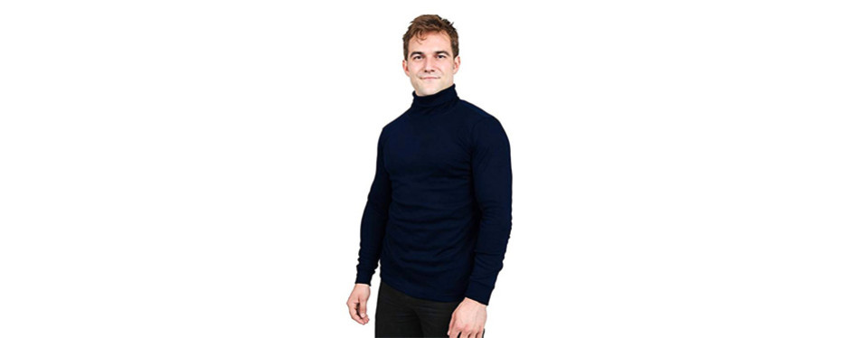 utopia wear turtleneck men t-shirt
