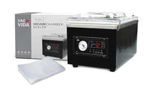 vac-vida vs301 vacuum chamber sealer
