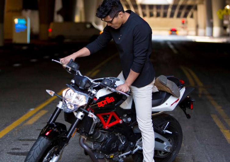 Vaktare Moto Gear Abrasion Resistant Henley