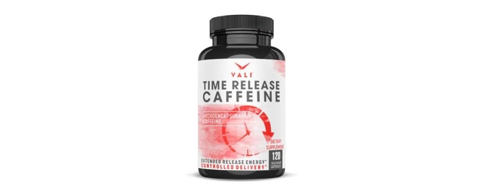 vali time release 100mg caffeine pills