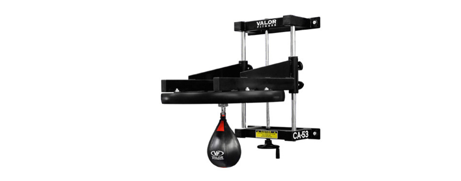 "valor fitness ca-53 adjustable 2"" boxing speed bag platform"