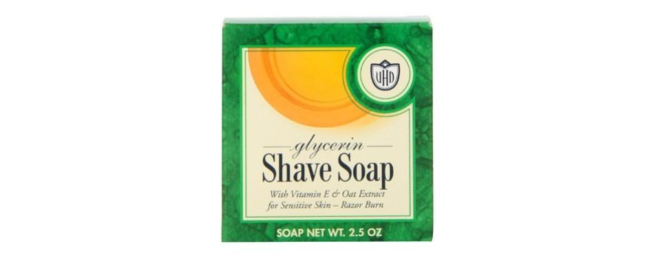 van der hagen glycerin shave soap