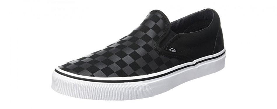 vans checkerboard slip-on skate shoes