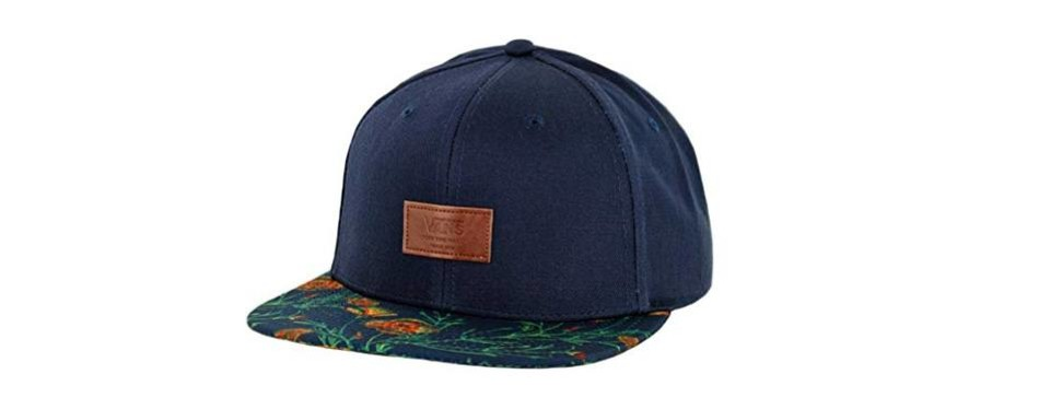 vans off the wall the pinpoint snapback