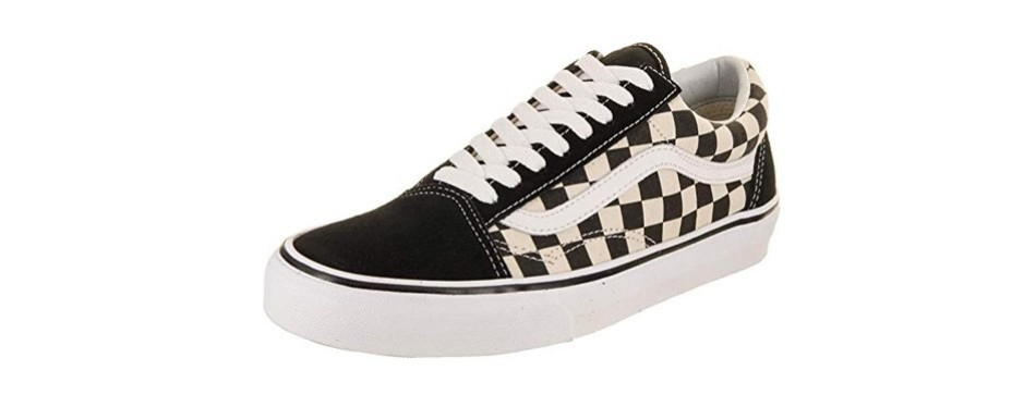 vans unisex old skool checkerboard classic sneakers