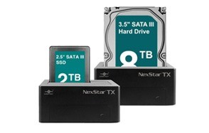 vantec nexstar tx single bay hard drive dock