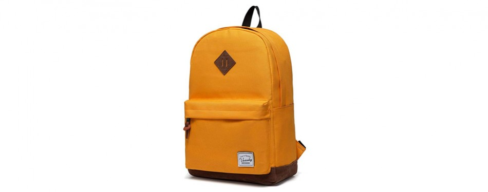 Vaschy Unisex Classic Water Resistant Backpack