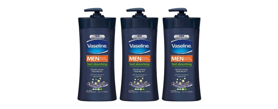 vaseline men's body lotion