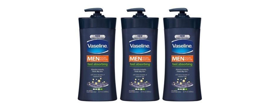 vaseline men's body lotion