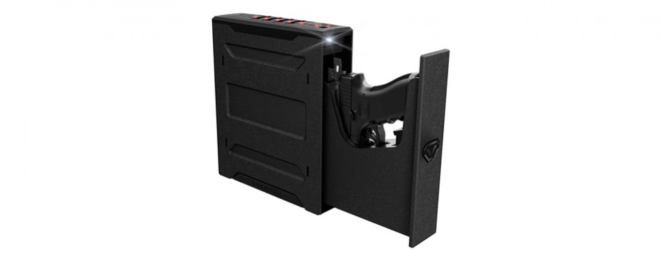 vaultek slider series rugged smart handgun safe