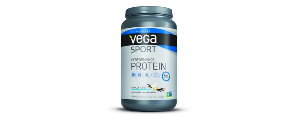 vega sport protein powder: vanilla