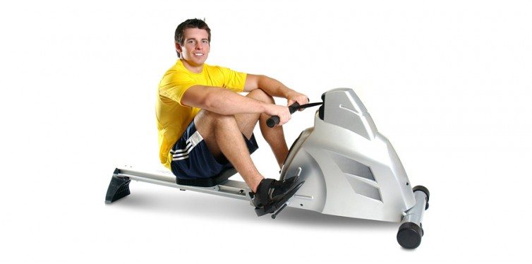 Velocity Exercise Magnetic Rower Machine