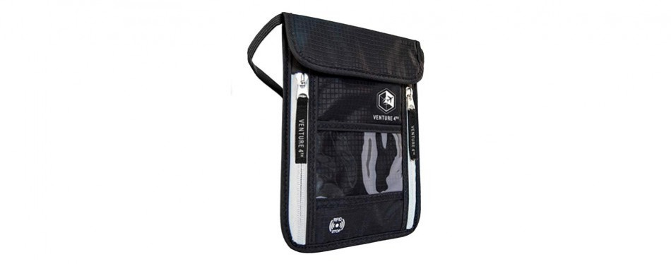 venture 4th travel wallet neck pouch