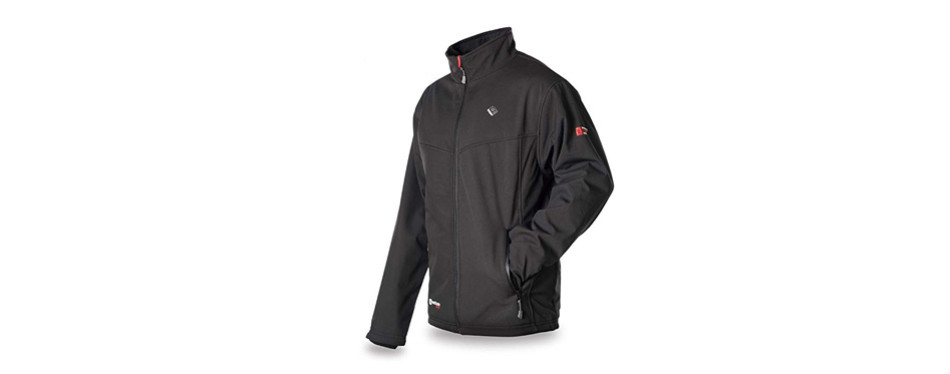 venture heat men's softshell heated jacket