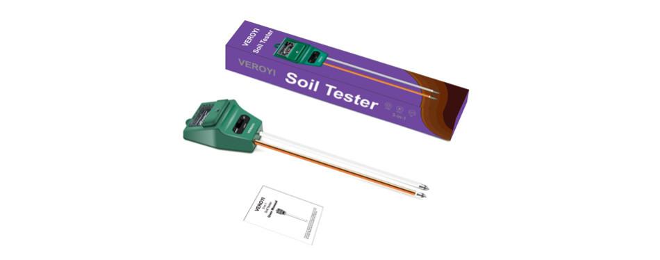 veroyi soil ph meter