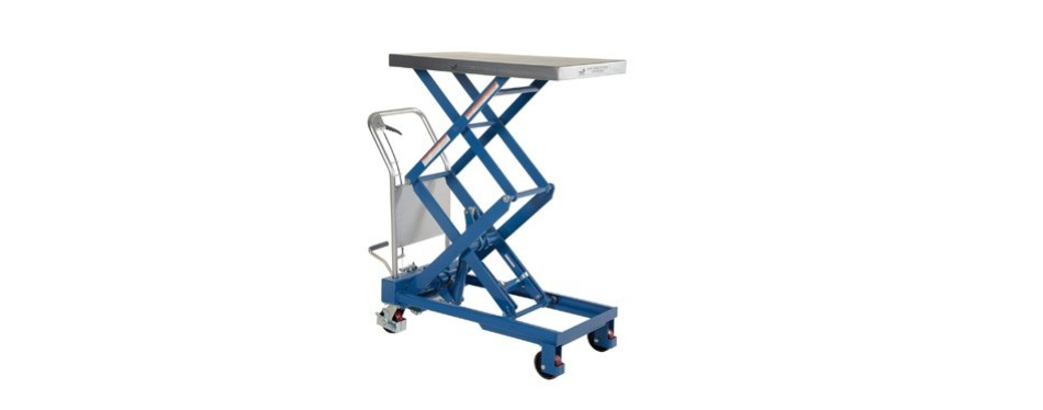 vestil hydraulic elevating cart