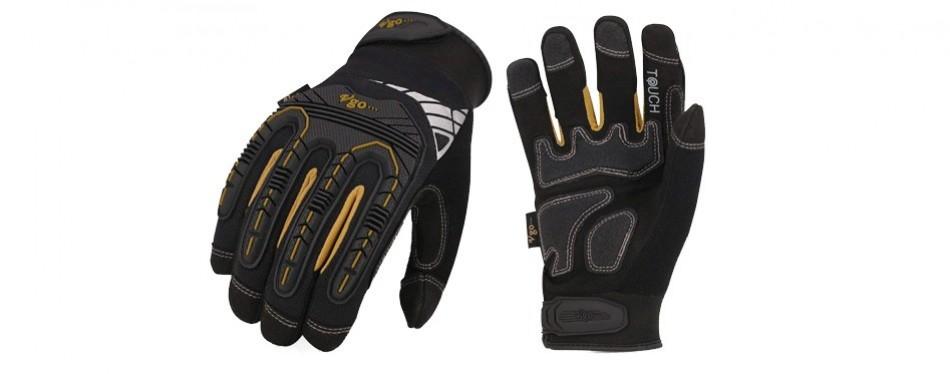 vgo high dexterity heavy duty mechanic gloves