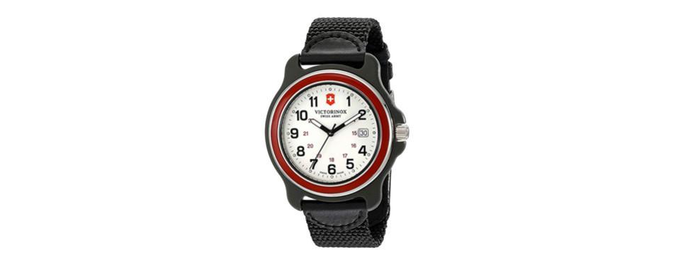 victorinox men's 249085 original xl swiss quartz watch