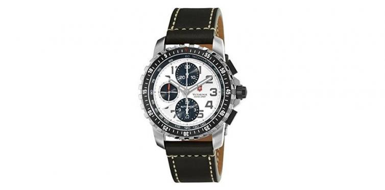 Victorinox Alpnach Silver Chronograph Watch