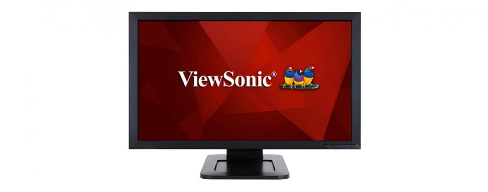 viewsonic 24-inch dual-point optical touch screen monitor