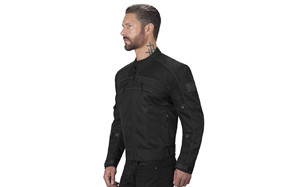 viking cycle ironside textile mesh motorcycle jacket