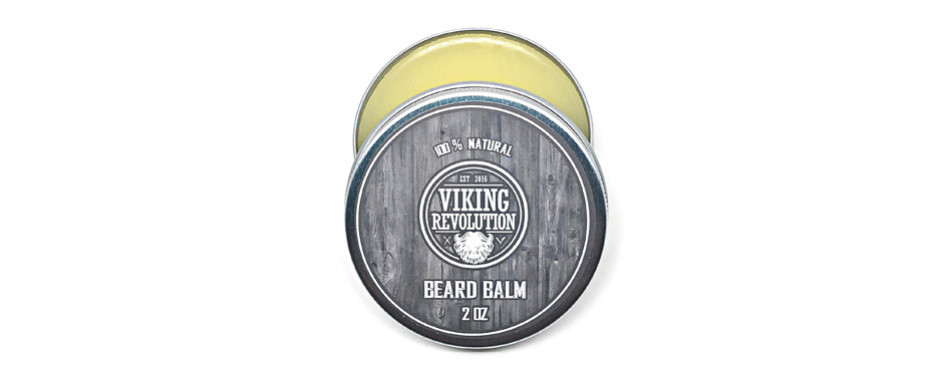 viking revolution 100% natural beard balm