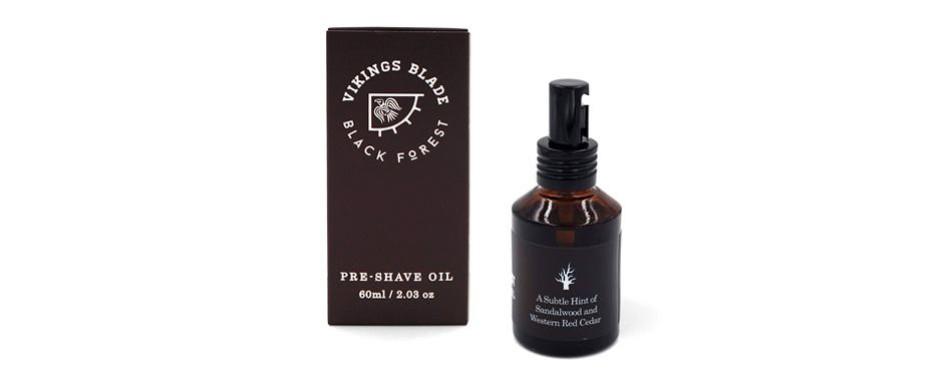 "vikings blade ""black forest"" pre-shave oil"