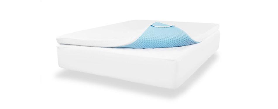viscosoft 3 inch gel memory foam mattress topper